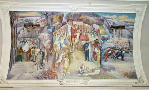 Crazy Russian Mural 5